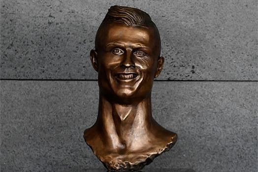 The latest bust of Cristiano Ronaldo