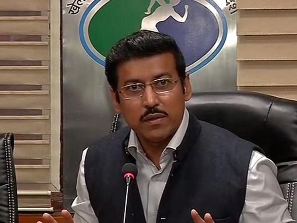 Rajyavardhan Singh Rathore, Sports Minister
