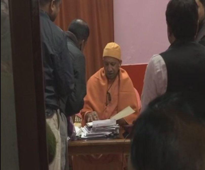 Uttar Pradesh Chief Minister Yogi Adityanath organised Janta Darbar