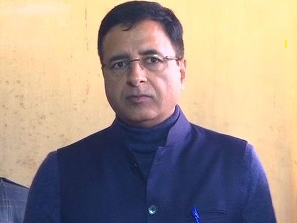 Congress leader Randeep Surjewala
