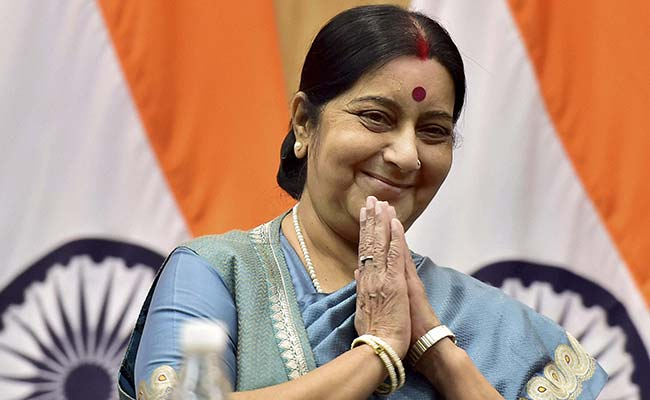 Minister of External Affairs (MEA) Sushma Swaraj