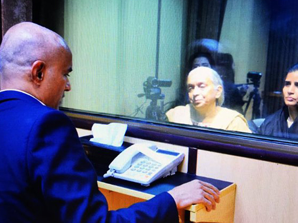 Jadhav's mother, wife finally meet him in Islamabad