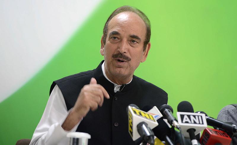 Ghulam Nabi Azad (File Photo)
