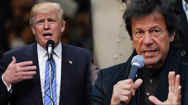 Imran Khan slams Trump over Pak tweet