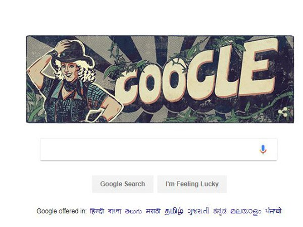 Google Doodle on Bollywood actress and stunt queen Mary Ann Evans