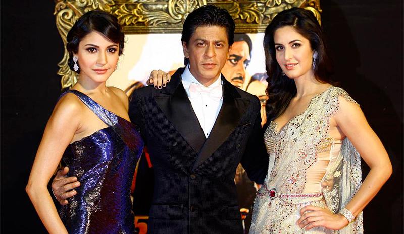Anushka Sharma, Shah Rukh Khan & Katrina kaif