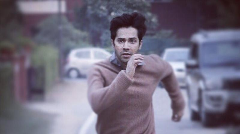 Varun Dhawan in October