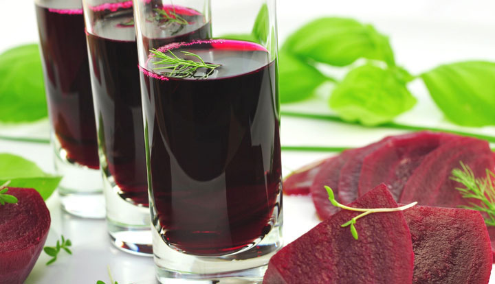 A view of Beetroot Juice