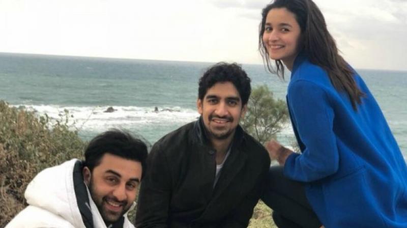 Ranbir Kapoor, Ayan Mukherji & Alia Bhatt