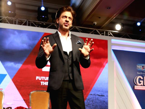 Shah Rukh Khan At Global Business Summit 2018
