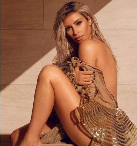Hollywood star Kim Kardashian