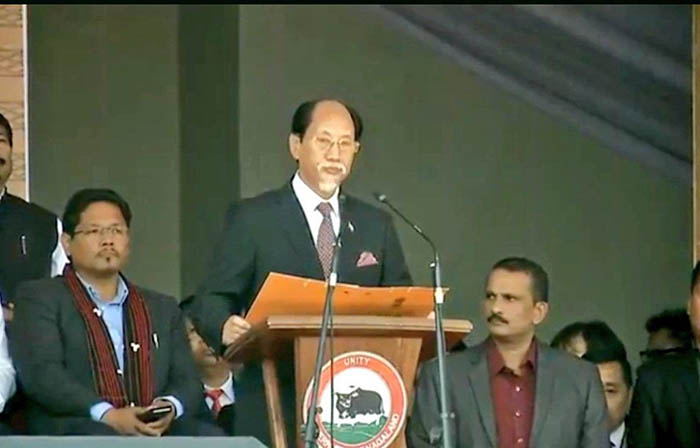 Neiphiu Rio (Chief Minister of Nagaland )