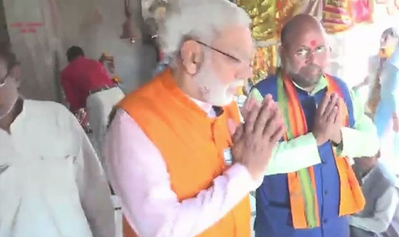 Prime Minister Narendra Modi and Bharatiya Janata Party (BJP) president Amit Shah