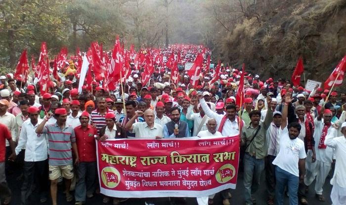 Kisan Sabha's farmers