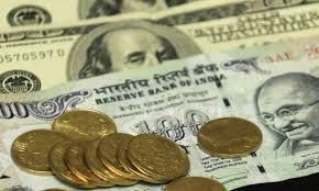 Rupee gain by 1 paisa