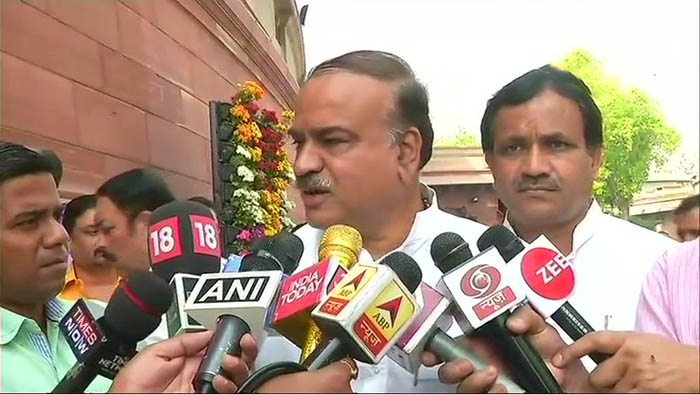 Union Parliamentary Affairs Minister Ananth Kumar