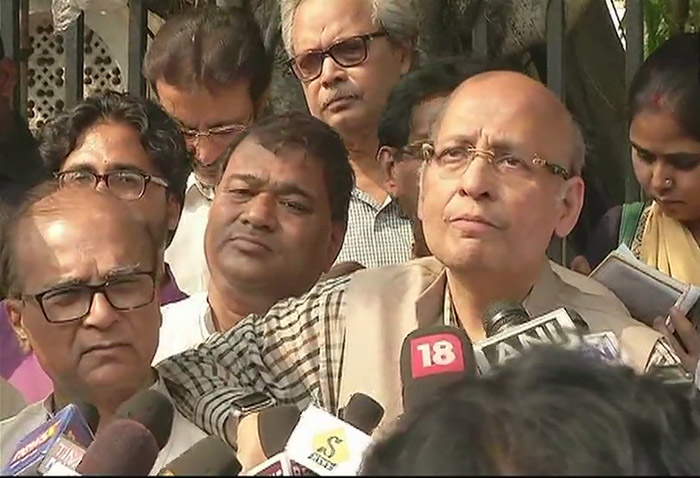 Congress party spokesperson Abhishek Manu Singhvi