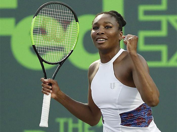 Venus Williams battles into Miami Open third round ...