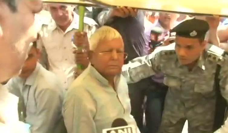 RJD chief Lalu Prasad Yadav