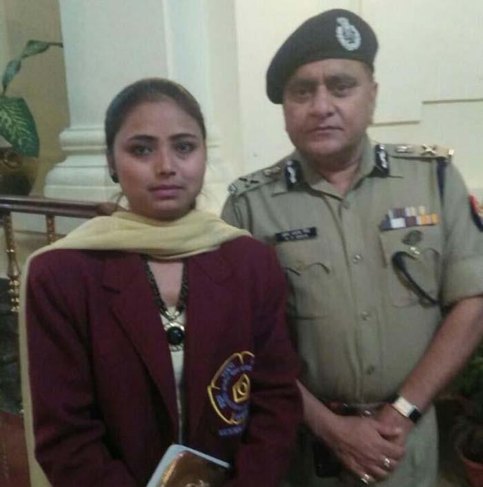 Bharat Award recipient Nazia Khan