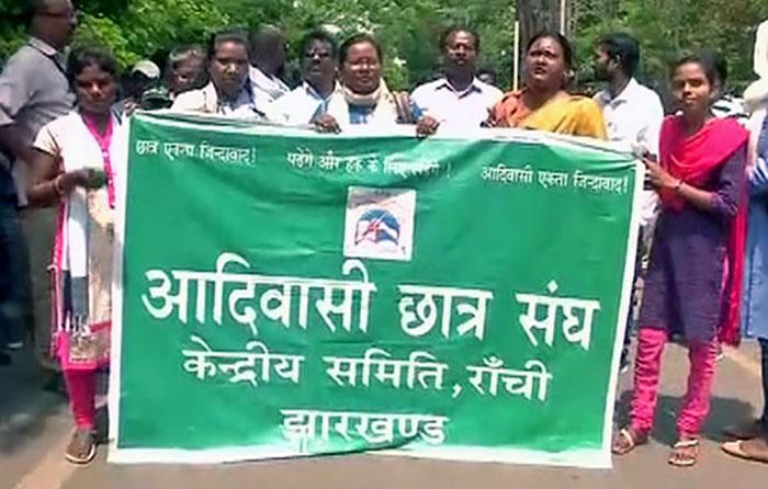 Member from Adivasi Chhatra Sangh