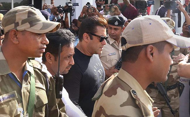 Salman Khan in Jodhpur court