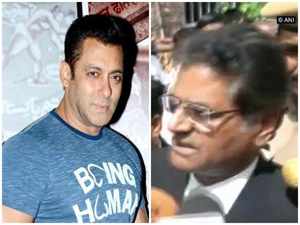 Salman and Hastimal Saraswat (File Photo)