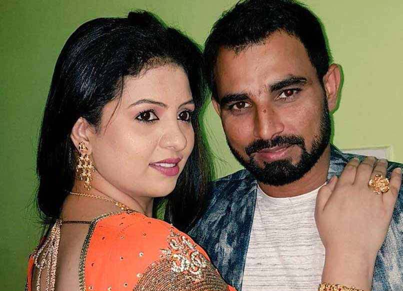 Mohammed Shami with his wife Hasin Jahan (File Photo)