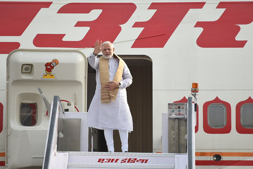 Prime Minister Narendra Modi embarks on a five-day visit to Sweden, United Kingdom and Germany