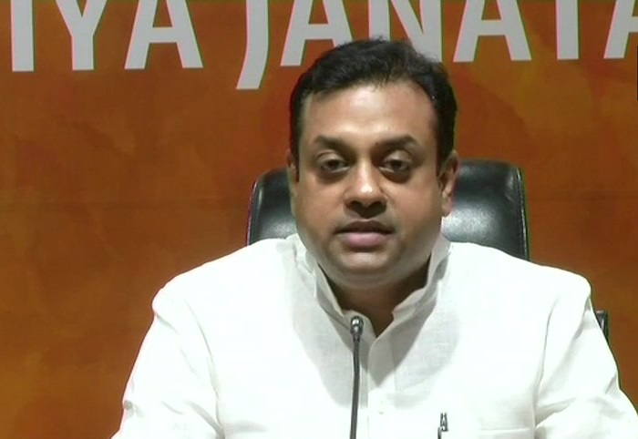 BJP national spokesperson Sambit Patra