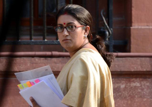 Union Minister Smriti Irani (File Photo)
