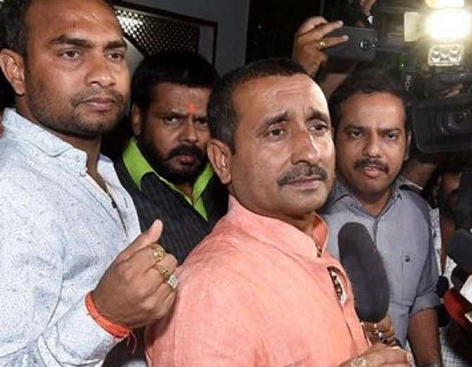 BJP MLA Kuldeep Singh Sengar (File Photo)