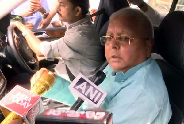 Lalu Prasad Yadav discharged from AIIMS in Delhi