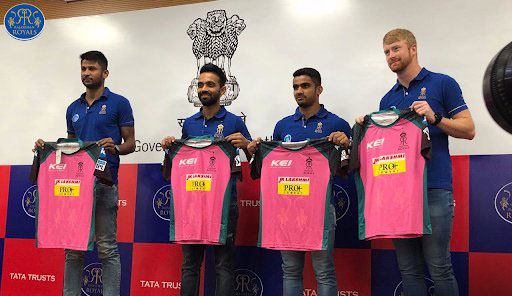 Rajasthan Royals launching new jersey