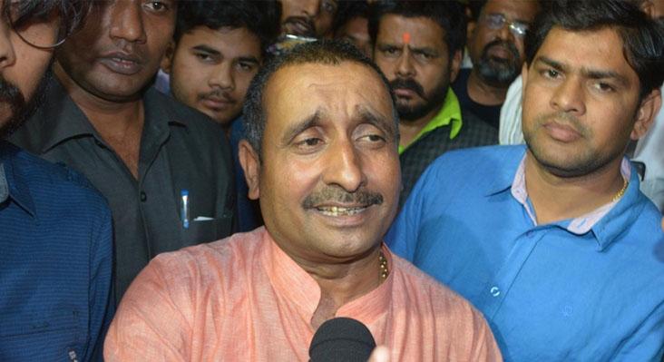 BJP MLA Kuldeep Singh Sengar (file pic)