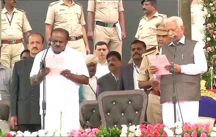 Chief Minister of Karnataka HD Kumaraswamy