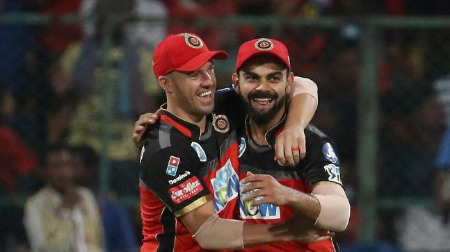 Virat Kohli with AB de Villiers (File Photo)