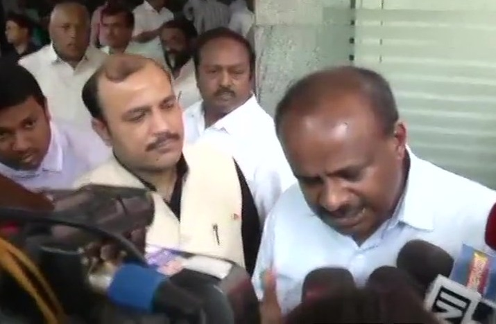 Chief Minister of Karnataka HD Kumaraswamy