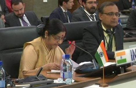External Affairs Minister of India Sushma Swaraj