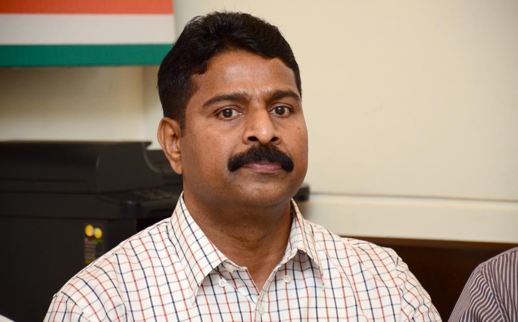 Goa Power Minister Pandurang Madkaikar