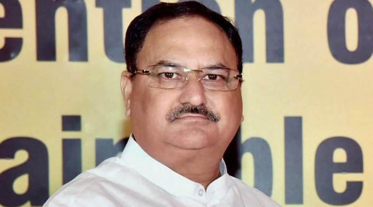 Union Minister for Health, J. P. Nadda