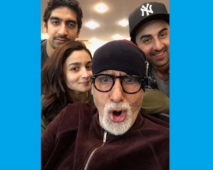 Brahmastra caste- Ranbir Kapoor, Amitabh Bachchan, Alia Bhatt and  Ayan Mukerji