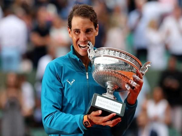 Spaniard tennis star Rafael Nadal outclassed Dominic Thiem of Austria
