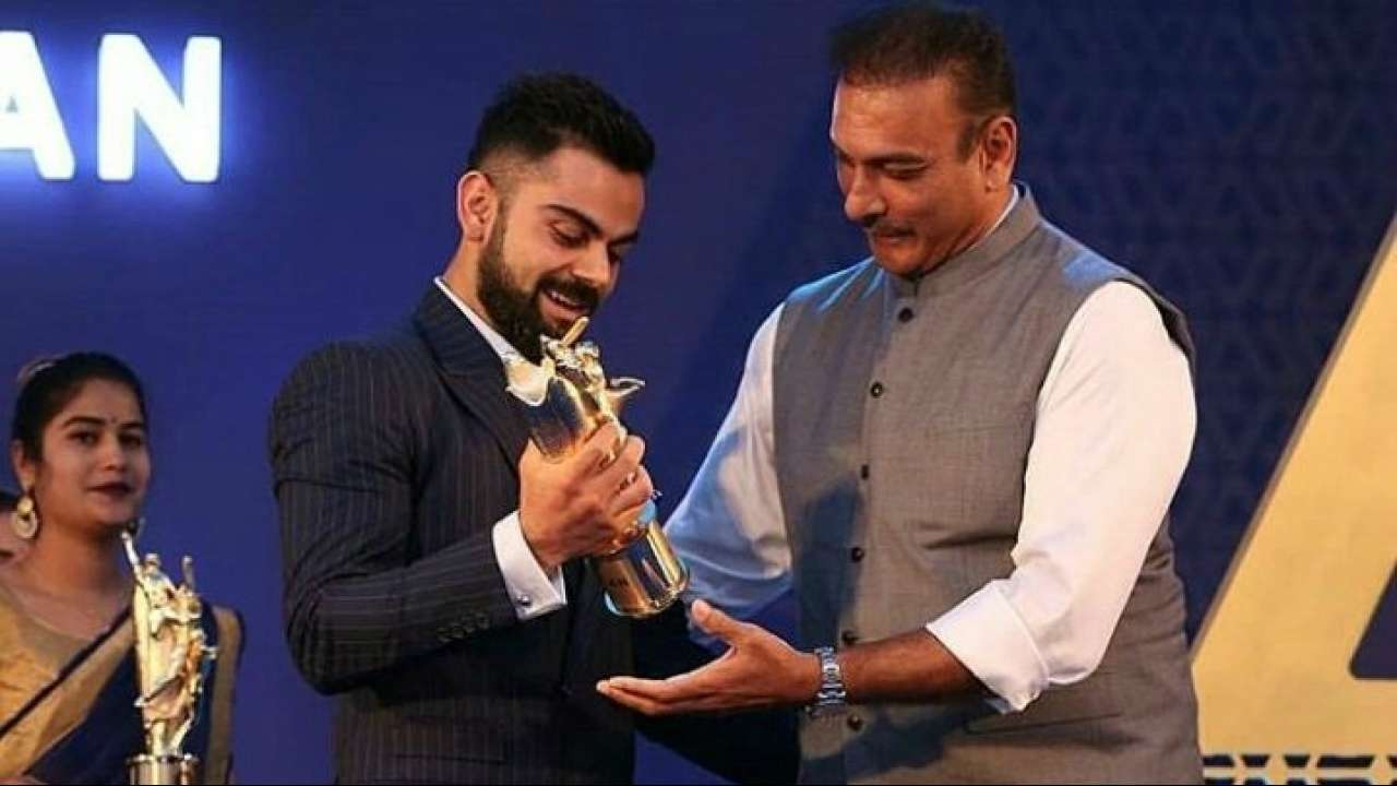 Indian skipper Virat Kohli receives  Polly Umrigar Award