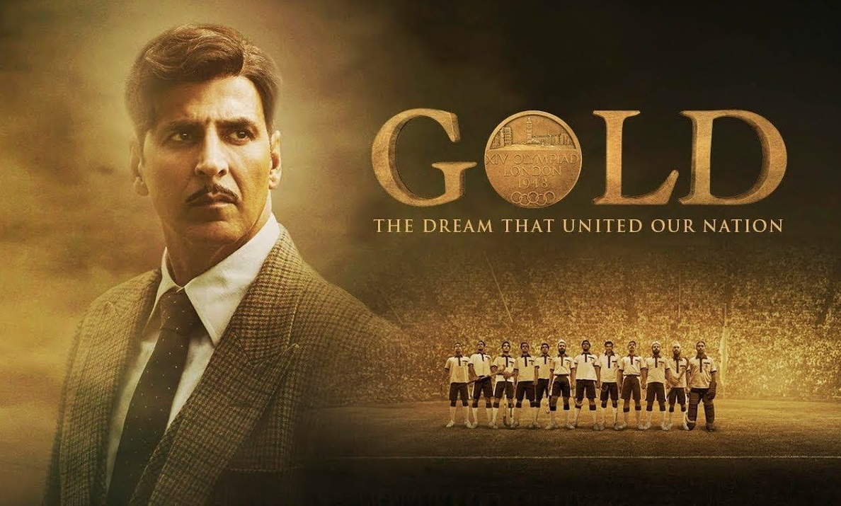 A poster of Gold