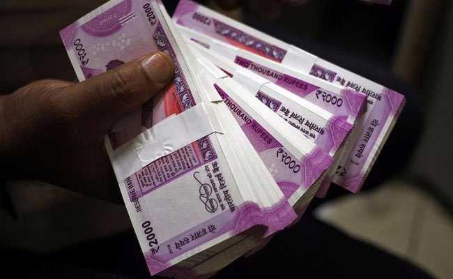 Rupee slides 7 paise