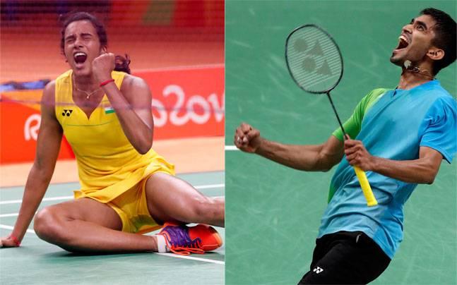 PV Sindhu and Srikanth