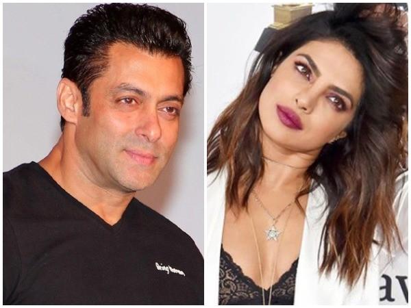 Salman Khan and Priyanka Chopra