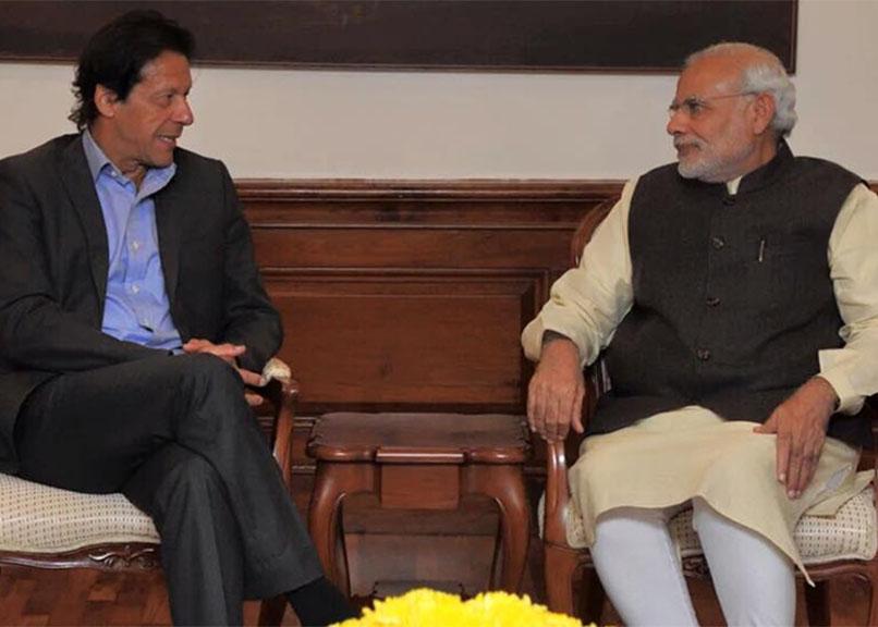 Imran Khan with PM Modi (File Photo)