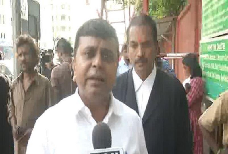 Dravida Munnetra Kazhagam's lawyer Saravanan